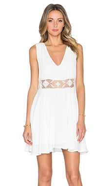 Free People Summer Feeling Dress in Ivory