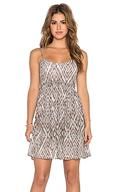 Free People Periscopes In The Sky Dress in Ivory Combo