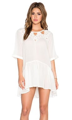 Free People Sun and Moon Tunic in Ivory