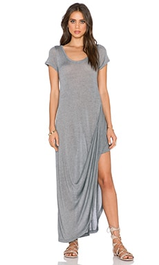 Free People Harvest Moon Maxi Tee in Grey
