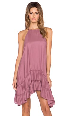 Free People Raven Slip Dress in Dusty Rose