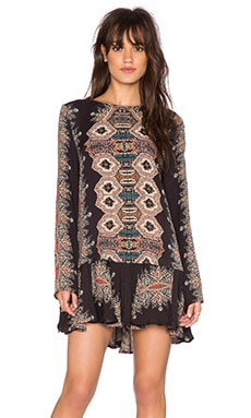 Free People Smooth Talker Tunic in Black