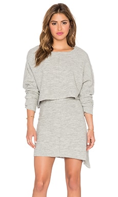 Free People Sweet Jane Sweater Set in Grey