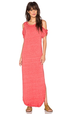 Free People Kick Around Maxi Dress in Red