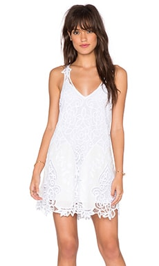 Free People Victoria Mini Dress in White