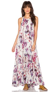Free People Juno Maxi Dress in Spring Garden Combo