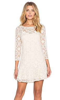 Free People Walking To The Sun Dress in Cream