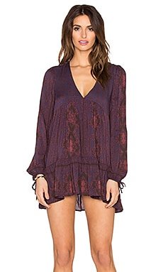 Free People Down By The Bay Tunic in Dusk Combo