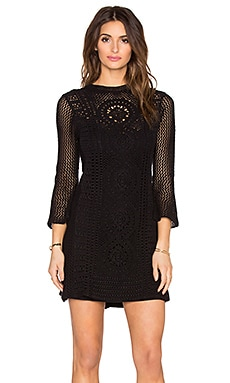 Free People Rosalind Swift Dress in Black