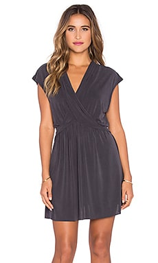 Free People Cupro Dress in Black