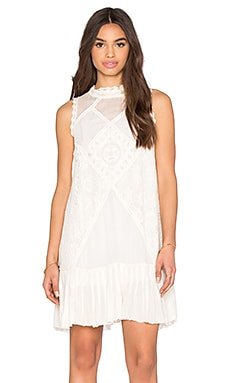 Angel Lace Dress in Ivory