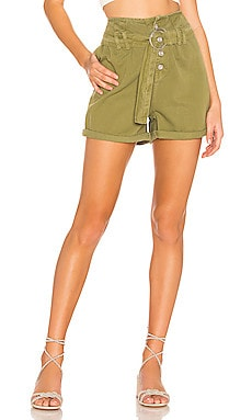 Cindy Utility Short Free People $30 (SOLDES ULTIMES)