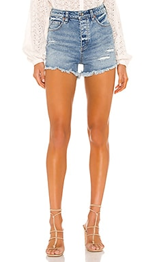 Crvy Vintage High Rise Short Free People $78 MÁS VENDIDO