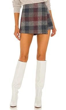 Emmy Mini Menswear Skort Free People $98 NEW