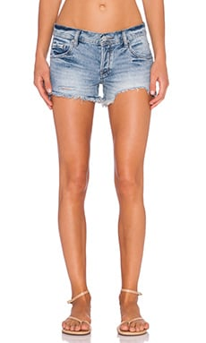 Free People Sharkbite Shorts in Queen Wash