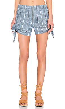 Blue Bonnet Shorts en Denim Combo