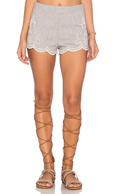 Free People Life's Too Short Shorts in Grey