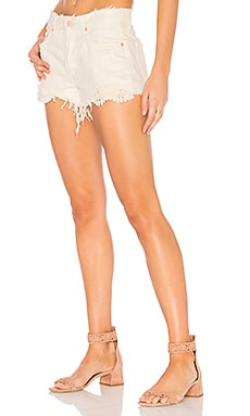 Daisy Chain Lace Short in Weiß