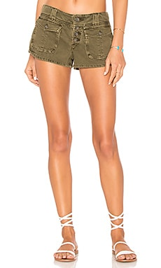 Cora Button Front Short Free People $51