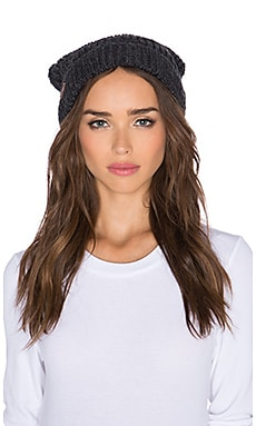 Free People Pom Pom Hat in Charcoal