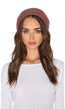 Free People Pom Pom Hat in Rosewood