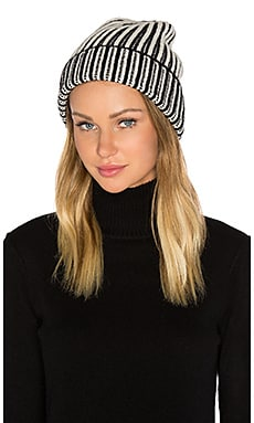 Berkley Two Tone Beanie in Black Combo