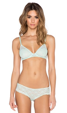 Free People Sweetheart Triangle Underwire Bra in Mint