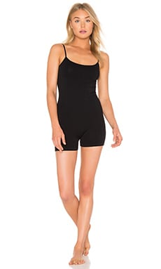 Seamless Romper in Black