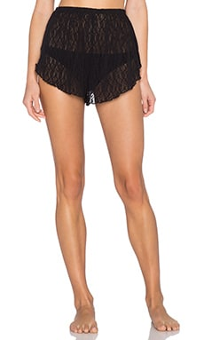 Free People High Tide Sleep Short in Black