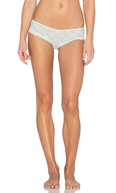 Free People Lace Hipster Undie in Mint Julip