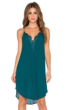 Free People Parisian Slip in Teal