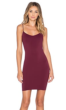 Free People Bella Coachella Mini Slip* in Eggplant