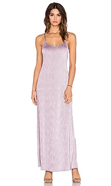 Free People She Moves Maxi Dress in Dusty Purple