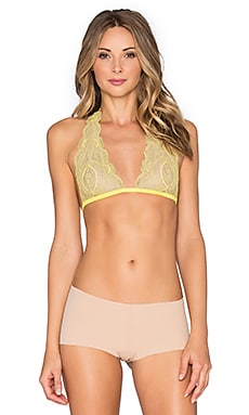 Free People Get Down Halter in Chartreuse Combo