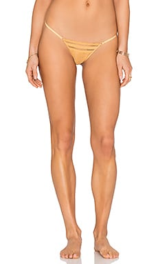 Free People More Than Words Thong in Golden Ray