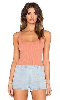 Free People What's Not to Like Cami in Bisque Combo