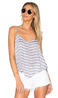 Crossroads Cami Striped en Imprimé Bleu