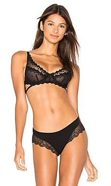Georgie Underwire Bra in Black