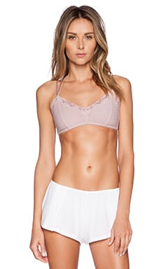 Free People I Got Stripes Soft Bra in Misty Pink