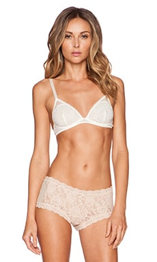 Free People Triangle Bra in Ivory