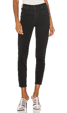 Riley Seamed Skinny Free People $63