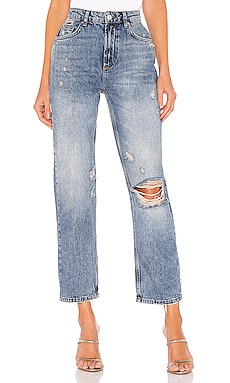 Dakota Straight Leg Jean Free People $78