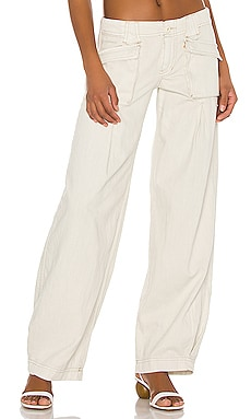 Birch Denim Wide Leg Pant Free People $128 MÁS VENDIDO