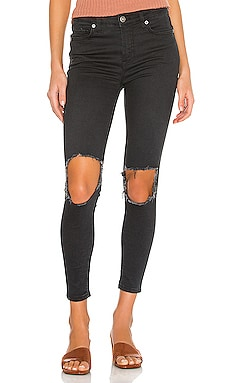 High Rise Busted Skinny Jean Free People $78 BEST SELLER