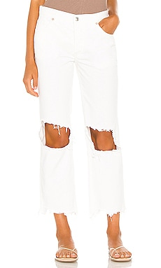 Maggie Mid Rise Straight Free People $78