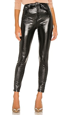 Phoenix Coated Skinny Jean Free People $98