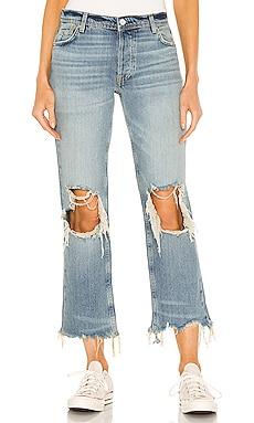 Maggie Mid Rise Straight Leg Jean Free People $78