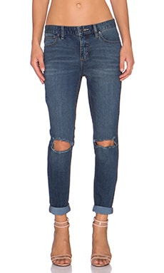 Free People Destroyed Skinny Jean in Josie