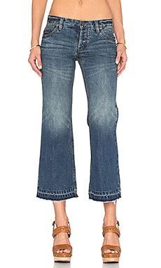 Chelsea Crop Kick Flare Jean in Jacob