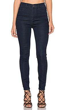 Cyndi High Rise Skinny Jean in Dark Denim